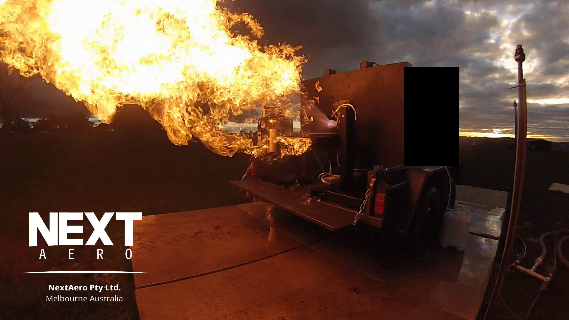 We Have Ignition – Engine Field Testing Commences